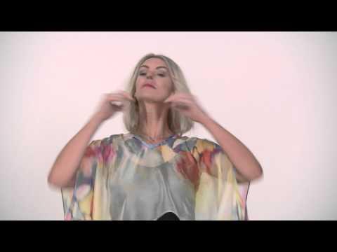 Liz Davenport for Creata Direct - Utopia Scarf Garment Demo