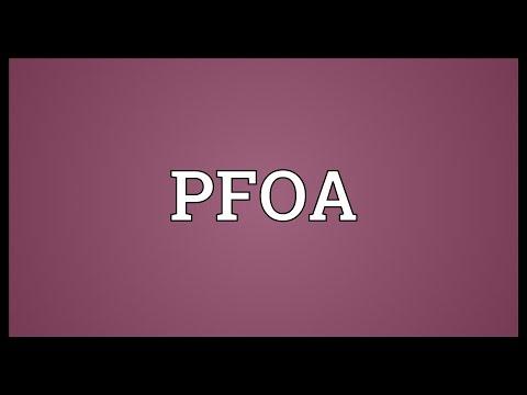PFOA Meaning
