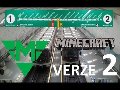 Minecraft Pražské metro v2 - linka A