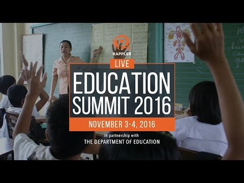 Day 1: Education Summit 2016