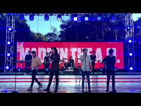 One Direction on Ellen-Harry asking to redo Love You Goodbye