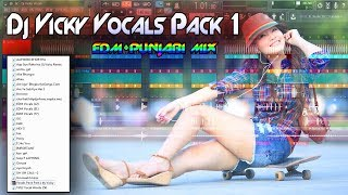 Dj Vicky Vocals Pack - Free Download - Edm + Punjabi Tadka Mix