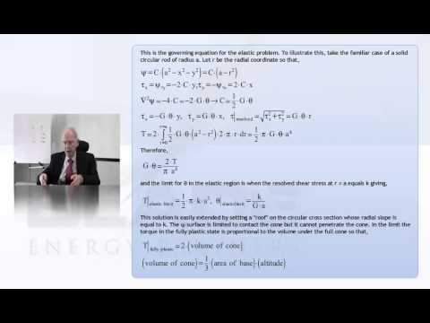 Theoretical and Applied Plasticity by Paul Paslay, P. E.- Lecture 2