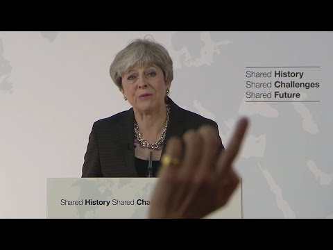 Theresa May's Speech on Brexit w/Q&A from Florence - 22nd Spetember 2017