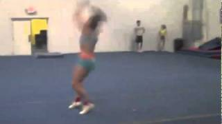 Whitney Love amazing standing double!