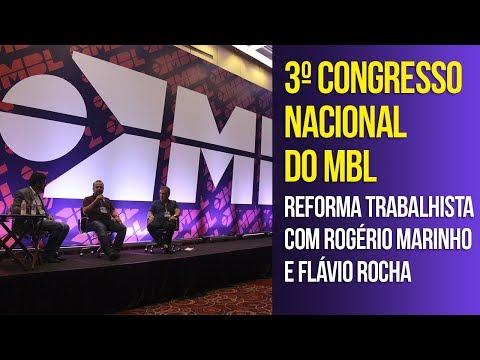 3CN - Reforma trabalhista com deputado Rogério Marinho e Flávio Rocha