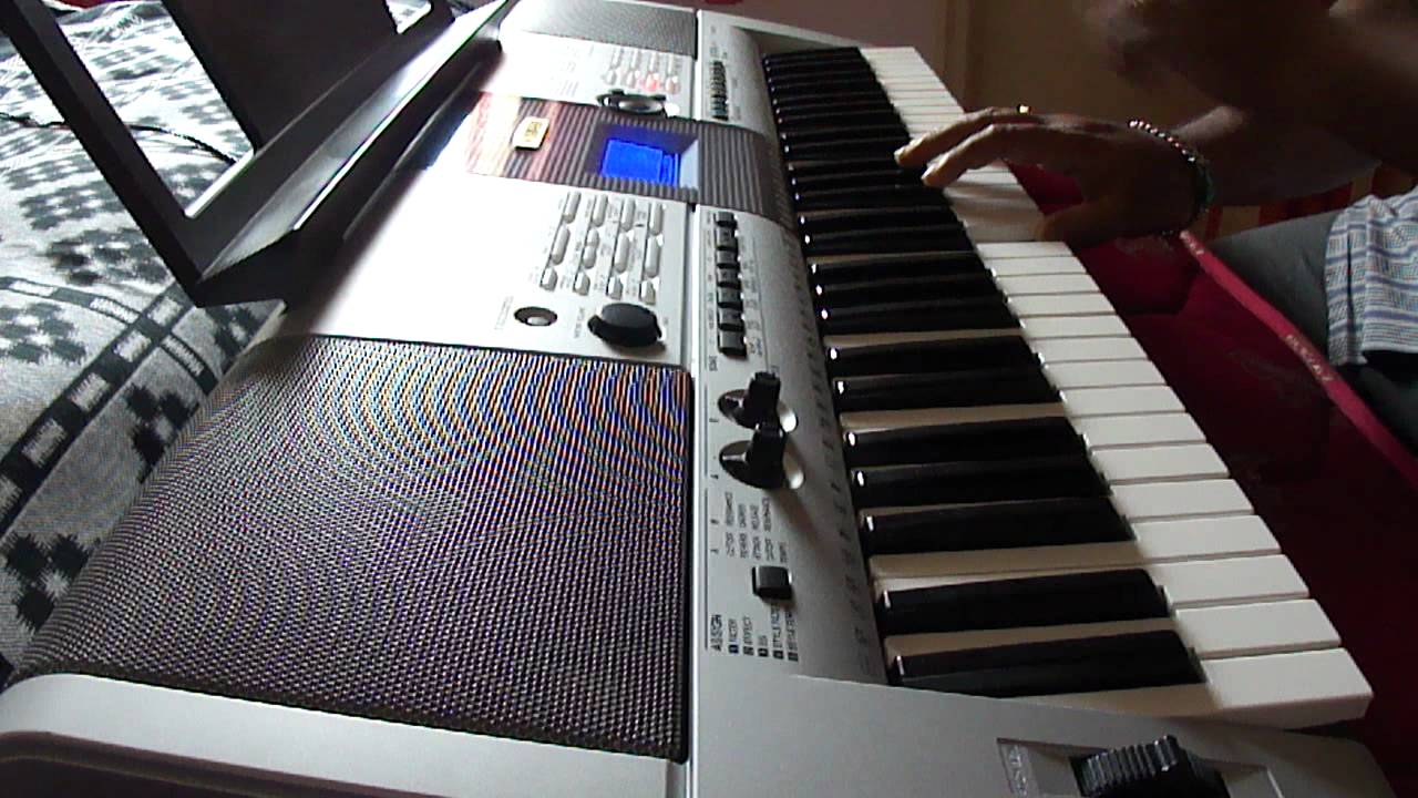 Piano cover of the song 39 teri meri 39 from the movie for Yamaha keyboard i425