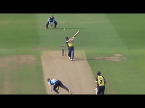 Watch Brendon McCullum hit 158 not out for Birmingham Bears
