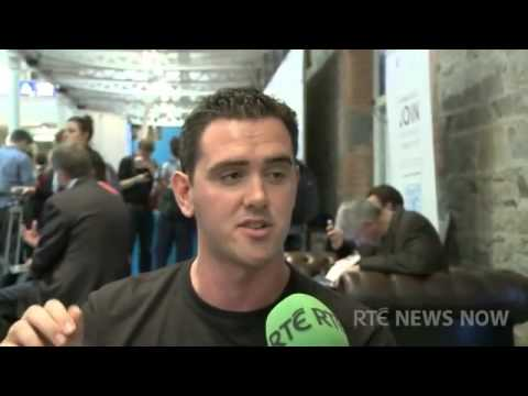 Robert O'Shaughnessy  Dublin Web Summit - EMcGPR Client Reverbeo