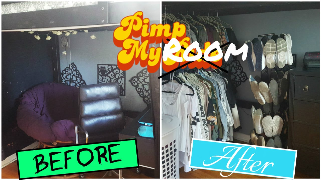 watch me pimp my room room makeover mini room tour youtube. Black Bedroom Furniture Sets. Home Design Ideas