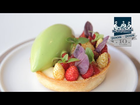 3-Michelin star chef Matt Abé creates Cornish brown crab, and custard tart with strawberry recipes