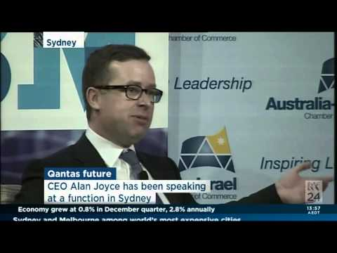 Alan Joyce - Business Leadership Canberra- 05 03 14