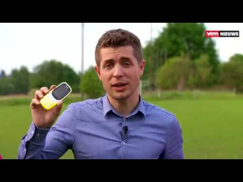 Nokia 3310 and Nokia 6 smartphone drop...