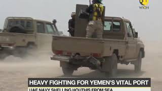Heavy fighting for Yemen's vital port: Offensive could lead to massive exodus