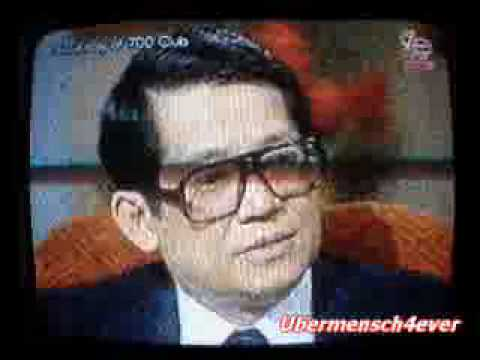 NINOY AQUINO's memorable interview on The 700 Club with Pat Robertson