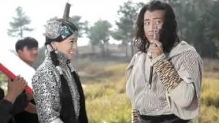 建元风云 Charmaine Sheh & Hu Jun filming kissing scene?