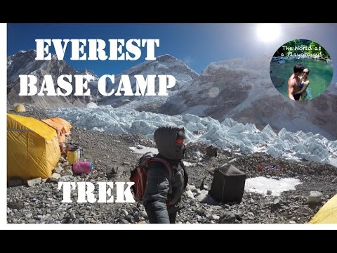 Trek in Nepal, Everest base camp, 3 passes, 7 summits, without guide 4K