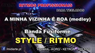 ♫ Ritmo / Style - A MINHA VIZINHA É BOA (medley) - Banda Fusiforme