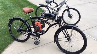 VELO MOTEUR 4 TEMPS  49cc | Motorized Bike 49cc