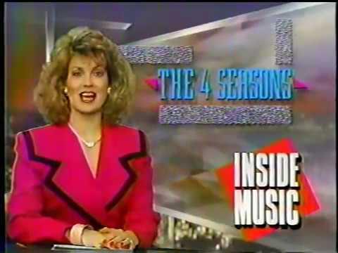 Four Seasons 1989 Interview: w/ Bob Gaudio & Frankie Valli