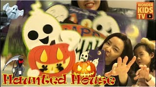 할로윈데이 이상한 유령들이 나타났다! 유령의 집 팝업북 haunted house silly ghosts. halloween ghost pop-up book