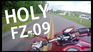 First Time Riding Fz09 - Crazy Experience