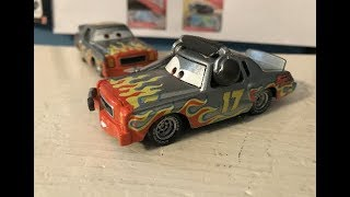 Disney Cars Darrell Cartrip with Headset Review