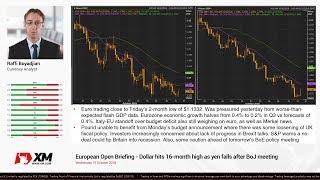 Forex News: 31/10/2018 - Dollar hits 16-month high as yen falls after BoJ meeting