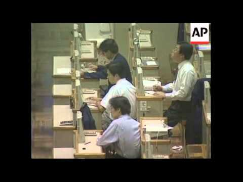 JAPAN: TOKYO: NIKKEI STOCK AVERAGE DROPS OVER 700 POINTS