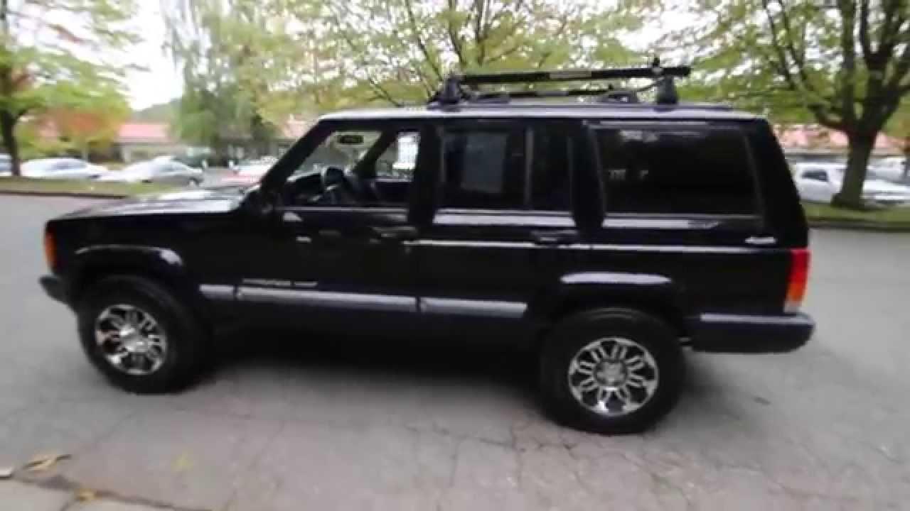 2001 Jeep Cherokee Sport | Black | 1L514968 | Kirkland | Redmond | Bellevue  |
