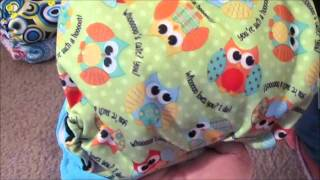 VEDA Day 17 Cloth Diaper Stash