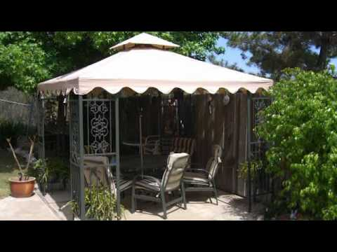Replacement Canopy for Walmart DC America Gazebo & Replacement Canopy for Walmart DC America Gazebo - YouTube