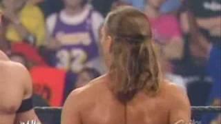 John Cena, HBK, Hulk Hogan vs. Tyson Tomko .........
