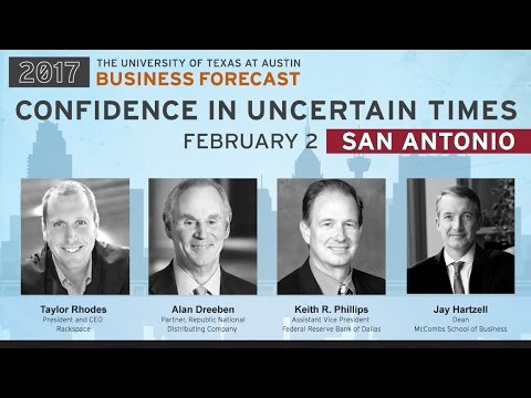UT McCombs Business Forecast 2017—SAN ANTONIO