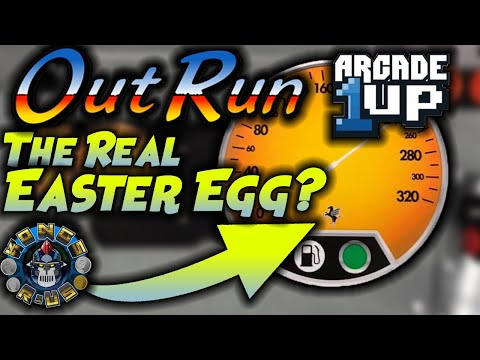 The REAL Easter Egg on OutRun Arcade1up! You Need to PEEL IT!!! from Kongs-R-Us