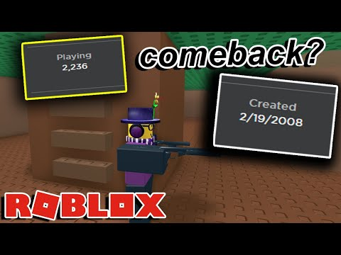 The Oldest Game On Roblox Youtube This 12 Year Old Roblox Game Is Suddenly Popular Again Youtube
