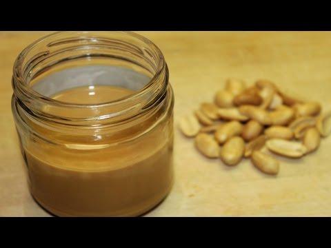 طريقة عمل زبدة الفول السوداني الكريمية فقط من الفول السوداني الطازج و القليل من الزيت