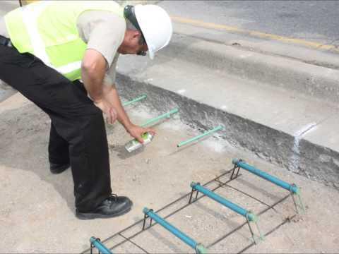 Concrete Pavement - Turning Lane
