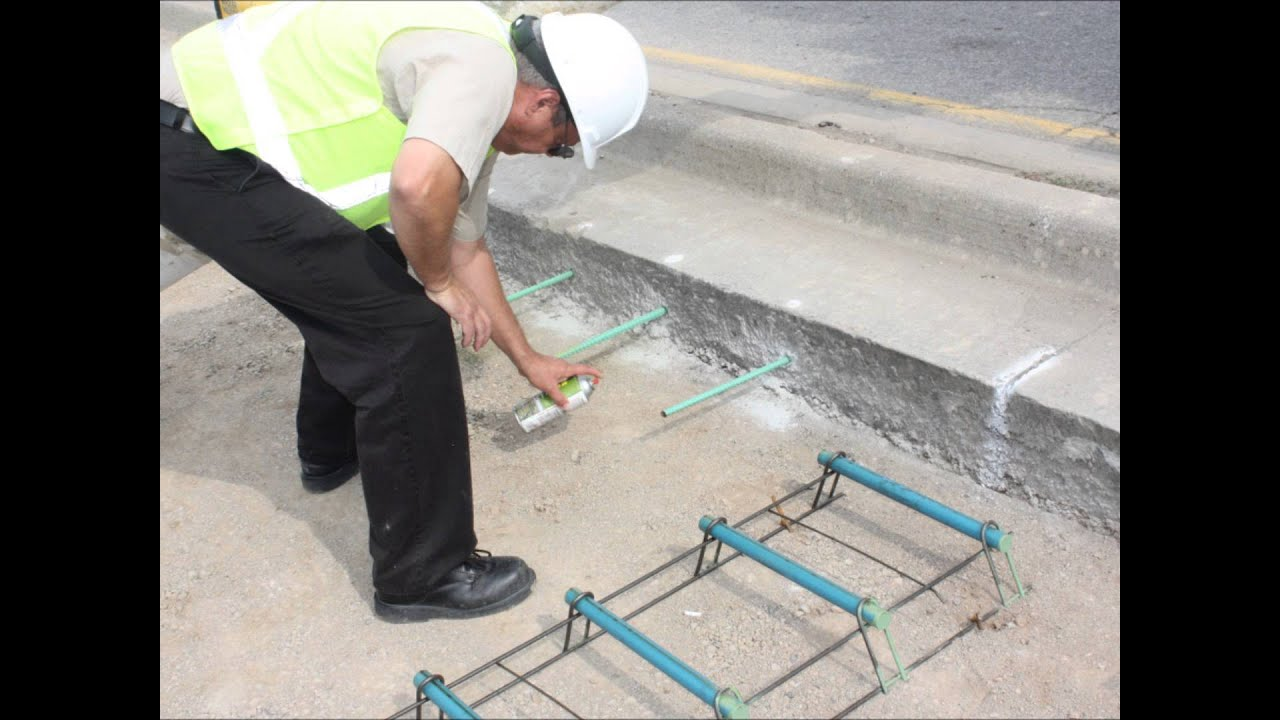 how to use a concrete groover