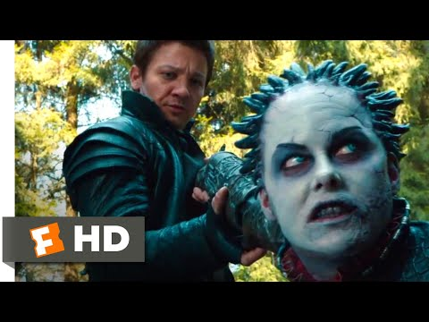Hansel & Gretel: Witch Hunters (2013) - You Move, You Die Scene (4/10) | Movieclips