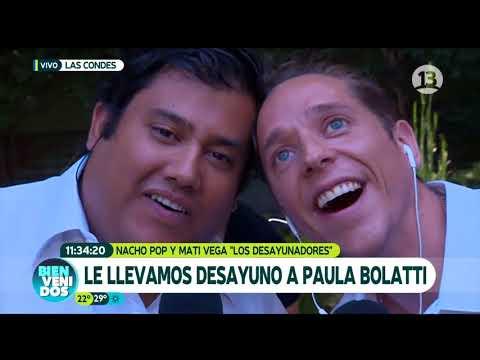 Nacho y Mati le llevan el desayuno a Paula Bolatti | Bienvenidos