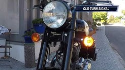 How to install Led Turn Signals on a Royal Enfield Classic 500 EFI
