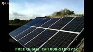 Oahu Solar Power System Call Today 808 518 2772