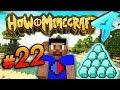 DIAMONDS! - HOW TO MINECRAFT S4 #22