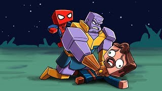 Infinity War Movie - STEALING THE TIME STONE! (Minecraft Avengers)