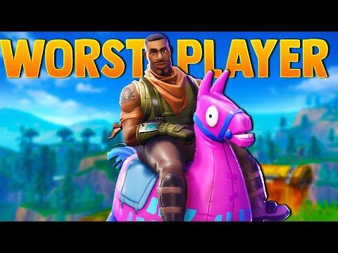 The Worst Fortnite Player Returns