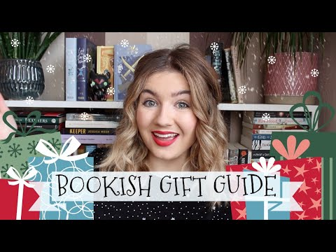 Bookish Christmas Gift Guide | All Of The Books!