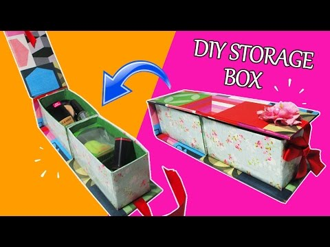 DIY Crafts: DIY Storage Box How To Make A Storage Box