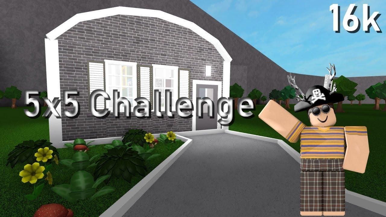 Bloxburg 5x5 Challenge 16k Youtube