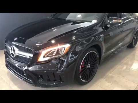 the 2019 mercedes benz amg gla 45 at mercedes benz of jacksonville youtube youtube